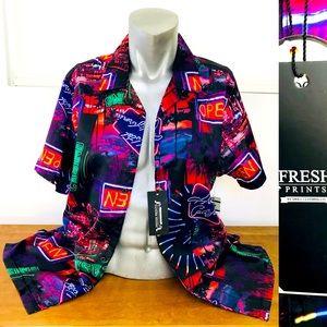 NWT Fresh Prints VEGAS Casino Resort Club SHIRT XL